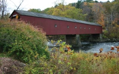The Housatonic at West Cornwall by David K. Leff