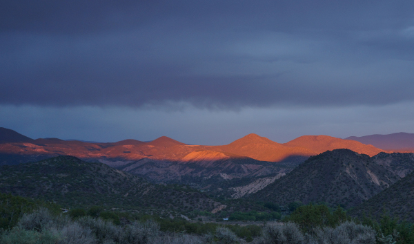 Diptych on New Mexico by Kael Moffat