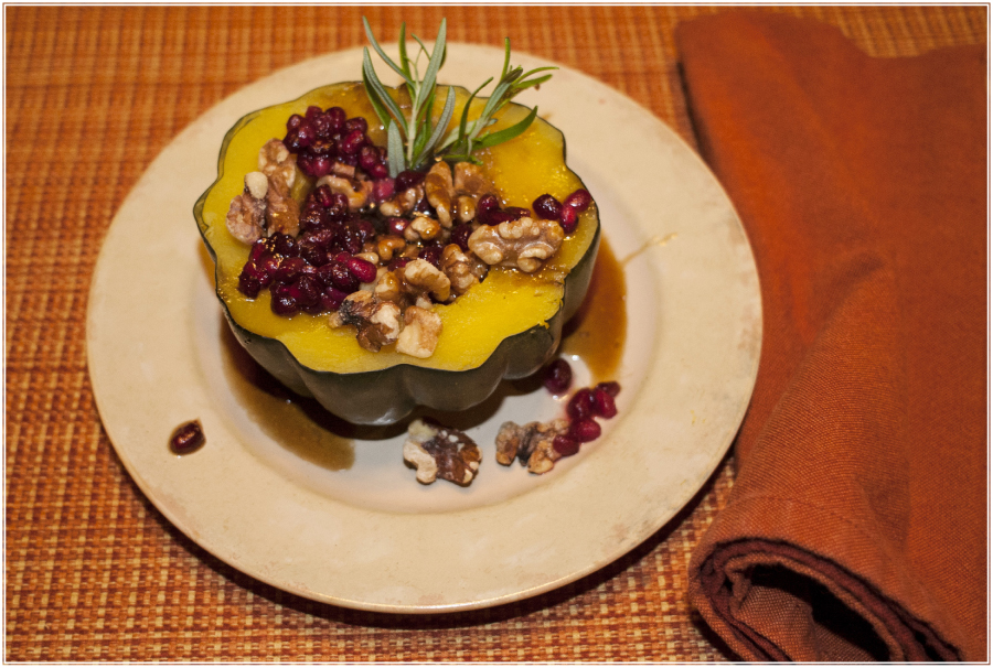 The Mindful Kitchen: Acorn Squash Old Fashioned | Recipe by Kristen Williams